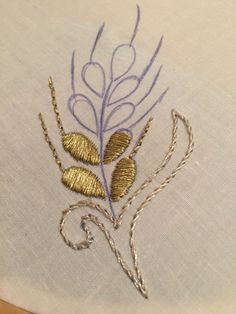 Rabat - #Rabat Embroidery Stitches Tutorial, Crewel Embroidery, Hand Embroidery Patterns, Beaded Embroidery, Embroidery Designs, Fabric Placemats, Gold Work, Embroidery For Beginners, Embroidered Flowers