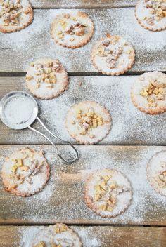 Galletas de aceite con manzana y nueces | L'Exquisit. Ideales para intolerantes a la lactosa