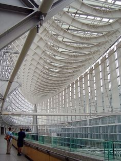 Tokyo International Forum by Lucie Maru, via Flickr | #Architecture #Building |