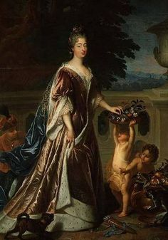 François de Troy, Portrait of Louise Bénédicte de Bourbon, the Duchesse du Maine, c. 1700