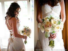 Brides Bouquet, David Austin Roses  Photo: David Champagne