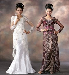 purpke sarong dresses | White and dark purple eastern traditional alternative to the western ...