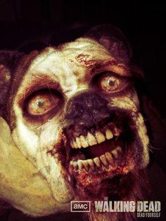 The Walking Dead dog Hahahaha xD