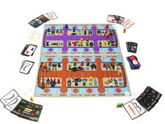 Another picture of Train Line: Chicago Edition showing Purple & Brown double-sided boards or tiles. Replay, Line, Chicago, Boards, Train, Games, Purple, Pictures, Planks