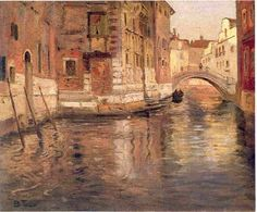 Paintings by Frits Thaulow Norwegian Painter...Venice