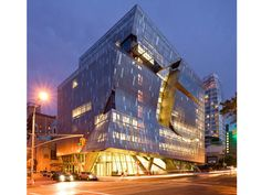 41 Cooper Square @ The Cooper Union for the Advancement of Science and Art campus in New York City.Project signed by architect Thom Mayne of Morphosis.