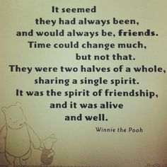 Winnie the pooh quotes 10 I hope people feel this for themselves. Friendship thank God for it.