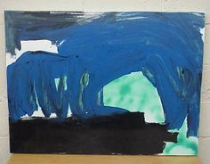 Sparacio archive: Painting the Blue Cave 2000