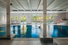 swimming pool at the SPA & Wellness Centre in  Dwor Oliwski CITY HOTEL & SPA