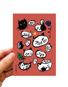 #illust #illustrator #zeo #crayonghouse #goodfriends #postcard #cat #고양이그림 #고양이…