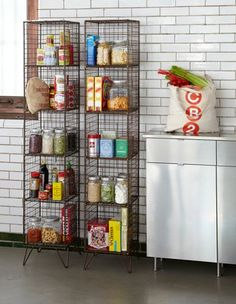 CB2 - coop tower $179 -- exposed pantry or bath tower