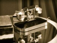The Deco phone… from One Hour With You (1932).