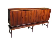 Elegant Rosewood Sideboard | From a unique collection of antique and modern credenzas at https://www.1stdibs.com/furniture/storage-case-pieces/credenzas/