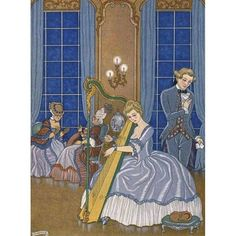 Erotica - Les Liaisons Dangereuses illustrated by George Barbier