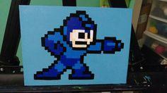 Megaman sprite painting