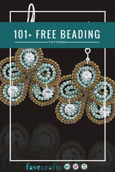With this collection of free beading patterns, you can craft your own jewelry to match any outfit or make an impressive gift for any occasion. You will find free beading patterns for necklace, bracelets, holiday jewelry and more. Skill levels range from beginner to advanced.