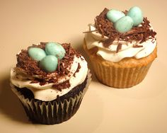 Creative Crumbs Nashville: Woodland Cupcakes ~ Part Bird Cakes, Cupcake Cakes, Cupcake Arrangements, Dad Cake, Cupcakes For Boys, Easter Recipes, Let Them Eat Cake, Cake Decorating, Sweet Tooth