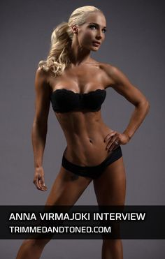 Anna-Virmajoki's full workout routine & diet plan