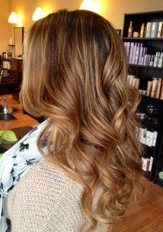Carmel balayage by Jackie Epperson @ Chroma Salon
