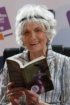 """Alice Munro, """"master of the contemporary short story"""". #nobelprize #writing"""