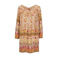 Tan Multifarget Chill Norway kjole fra ChillNorway - Festkjoler