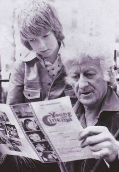 Jon and Sean Pertwee, circa Doctor Who Cast, Watch Doctor, What Is Like, That Way, Doctor Who Assistants, Sean Pertwee, My Babysitter, The Lovely Bones, Classic Doctor Who