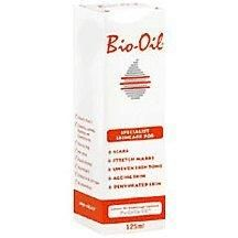 Bio-oil 4.2oz    Revolutionary purcellin oil improves spread ability of ingredients and allows targeted absorption  Clinically proven to reduce appearance of scars and stretch marks  Unique formula includes mix of plant oils and vitamins and moisturizes skin and improves tone  Non-acenegenic and hypo-allergenic
