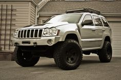 Needless to say, the Grand Cherokee is likewise very capable off-road. The 2012 Jeep Grand Cherokee includes a multitude of safety features. Jeep Cherokee Srt8, 2005 Jeep Grand Cherokee, Cherokee Sport, Cherokee Laredo, Jeep Wk, Jeep Commander Lifted, 2013 Jeep Wrangler Unlimited, Badass Jeep, Jeep Mods