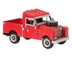 Adorno Automóvel Land Rover Truck - 29cm