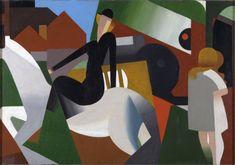 The Station and L'Écuyère René Magritte,1922.