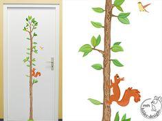 Beautiful Wandtattoo Messlatte Baum f rs Kinderzimmer