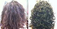 Deva Curl Before and After Pics