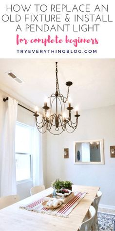 solution for off centered chandeliers clearly when my house was rh pinterest com Lowe's Dining Room Lights Dining Room Light Fixtures