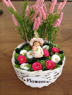 Névnapra készítettem ezt tavaszi asztaldíszt🎁🌷 Acai Bowl, Wreaths, Spring, Flowers, Acai Berry Bowl, Door Wreaths, Deco Mesh Wreaths, Royal Icing Flowers, Floral Arrangements