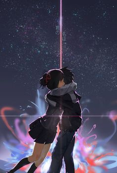 Your Name. Wallpaper Memes, Your Name Wallpaper, Cute Anime Wallpaper, Anime Backgrounds Wallpapers, Animes Wallpapers, Kimi No Wa Na, Kimi No Na Wa Wallpaper, Your Name Anime, Noragami Anime