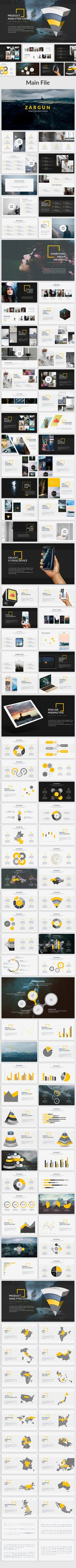 Zargun - Creative Powerpoint Template - Creative #PowerPoint #Templates Download here:  https://graphicriver.net/item/zargun-creative-powerpoint-template/19520153?ref=alena994