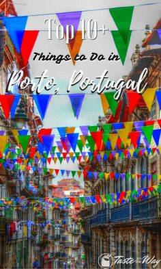 Check out top 10 (and more!) #thingstodo in #Porto, #Portugal #travel #photography @tasteontheway