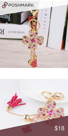 Sparkling key chain/ bag charm for your LV Brand new,  no name brand,  LAST ONE Louis Vuitton Bags Mini Bags