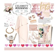"""You're Invited: Celebrity Wedding"" by gabree ❤ liked on Polyvore featuring Givenchy, Victoria Beckham, Kate Spade, Pamela Love, Casadei, J.Crew and Valextra"