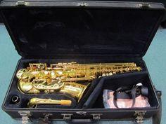 YAMAHA YAS-G2 Alto Sax Saxophone Japan W/ Hard Case 2 4C Mouthpieces ~ Excellent #Yamaha #YAS-G2 #hersandhisthrift
