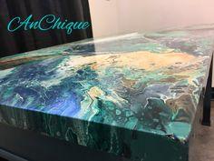 Paint Pour on desktop by AnChique.