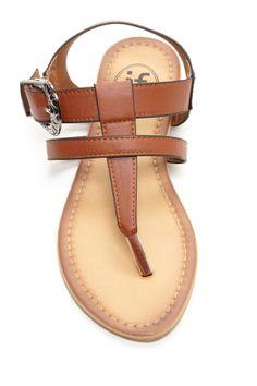 T-Strap Sandal by Carrini