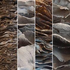Tests thus far. . . . . . #dutchart#ceramicart #handbuilding #artforsale #amsterdamart #wallsculptures #amsterdamdesign #contemporaryceramics #contemporarysculpture #sculptureart #tile #keramiek #contemporaryceramicart #amsterdamgallery #sculpture #ceramicsmagazine #wallarts #wallsculptureart #myartyourwall #nofilter