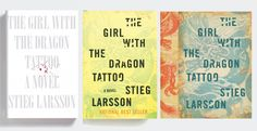 The art of designing 'Ulysses,' 'Lolita' and 'The Girl with The Dragon Tattoo'
