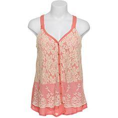 REWIND Floral Lace Button Tank w/ Scallop Embroidered Accent,SCO,L Rewind http://www.amazon.com/dp/B00M9FIRY0/ref=cm_sw_r_pi_dp_SJa5tb11WJ100