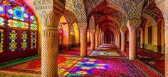 Nasir al-Mulk Mosque, Iran. Holy moly this looks insane