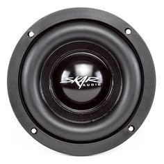 Don't be fooled by it's size, the is one monster of a subwoofer, featuring a pure copper voice coil, and a powerful 39 Oz single slug ferrite motor. Subwoofer Speaker, Powered Subwoofer, Speakers, Derby, Passive Radiator, Vanz, Car Audio Systems, Car Accessories, Consumer Electronics