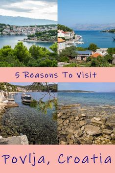 5 Reasons To Stay In Povlja, Croatia, On The Island Of Brac - Journey of a Nomadic Family Harbor Village, Meet Locals, Enjoying The Sun, Just Relax, Blue Lagoon, Green Trees, During The Summer, Day Trips, Perfect Place