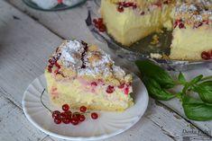 Sernik z czerwoną porzeczką - Danka Pichci Cheesecake, Food, Cheese Cakes, Cheesecakes, Meals, Cherry Cheesecake Shooters