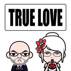 Hahahaha true love.............NOT #lol #elderly